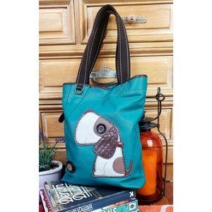 Chala Toffy Dog Lovers Tote Shoulder Bag